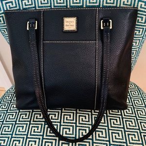 Dooney & Bourke Pebble Leather Lexington tote